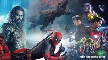 Hollywood films in 2018: Avengers Infinity War, Deadpool 2, Jurassic
