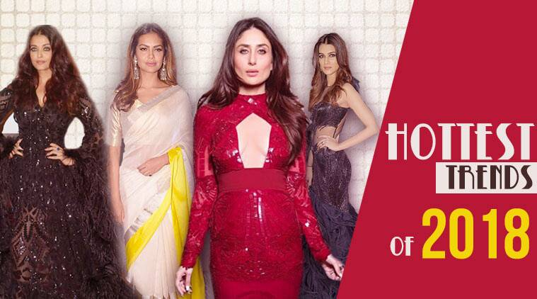 Fashion trends of 2018, metallic ruffles, what to wear and avoid in 2018, fringes, bold colours, aastha sharma, sheer, fisherman bags, sequins, indian express, indian express news