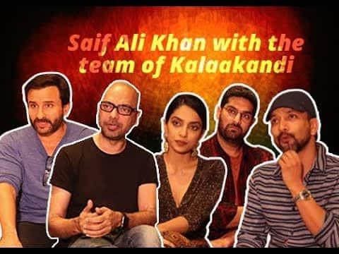 Saif Ali Khan and the team of Kalaakandi go on a trippytrip