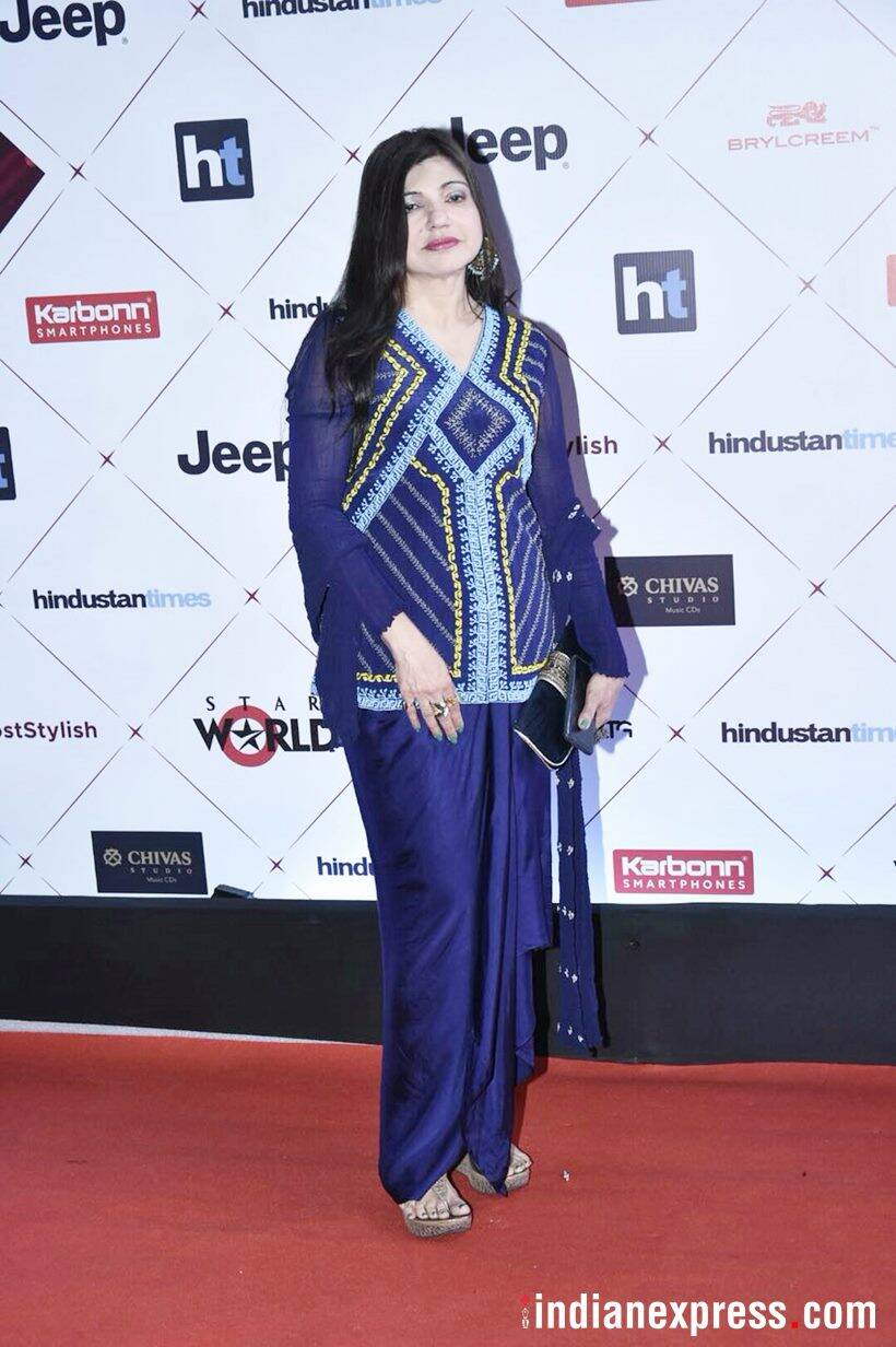 ht awards, ht most stylish, ht most stylish awards, Shahid Kapoor, Mira Kapoor, Mandira Bedi, Sonu Sood, ALka Yagnik, Sangeeta Bijlani, Divya Dutta, Shiamak Davar, celeb fashion, bollywood fashion, indian express, indian express news