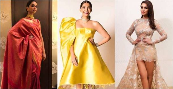 ht awards, ht most stylish, ht most stylish awards, Deepika Padukone, Deepika Padukone sari fashion, sonam kapoor, sonam kapoor fashion, parineeti chopra, parineeti chopra fashion, vaani kapoor fashion, sonakshi sinha fashion, shilpa shetty kundra fashion, indian express, indian express news