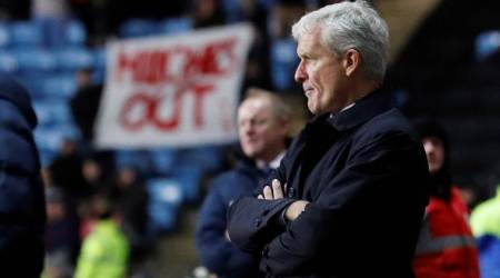 Pressure builds on Mark Hughes as Stoke City crash out of FA Cup
