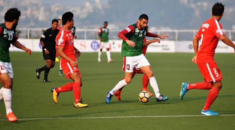 Mohun Bagan, Mohun Bagan vs Aizawl FC, I-League, I-League news, I-League updates, I-League schedule, sports news, football, Indian Express