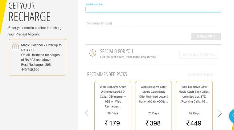 Idea 'Magic Cashback' Offered on Recharges of Rs. 398 and Above