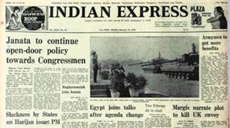 Forty years ago, Indian Express Forty Years Ago, Janata Party, Janata Government, Congressmen, Andhra Pradesh Assembly elections, Karnataka Assembly elections, Editorial News, Indian Express, Indian Express News