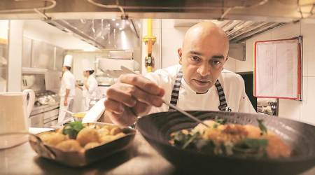 Chef Alfred Prasad, indian chefs, indian food, indian restaurants, indian cuisine, oberoi hotel, food and health, food philosophy, food experiments