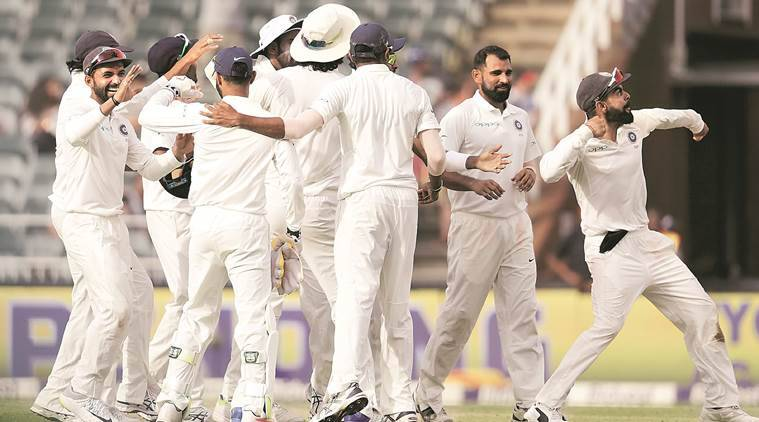 india vs sa, 3rd test, india vs south africe, virat kohli, wanderers, india win sa test, cricket news, indian express
