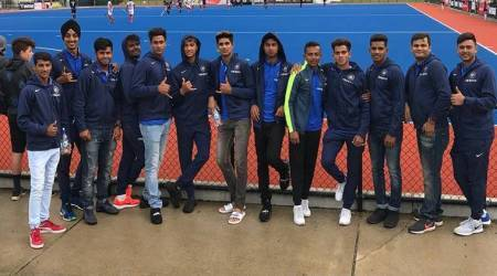 India U-19 cricket team cheers hockey side in New Zealand