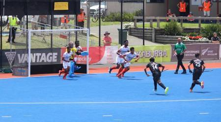 India down hosts New Zealand 3-1 in Four-Nations hockeytournament