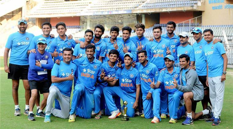U-19 World Cup, U-19 World Cup 2018, India, Rahul Dravid, Rahul Dravid India, Rahul Dravid coach, sports news, cricket, Indian Express