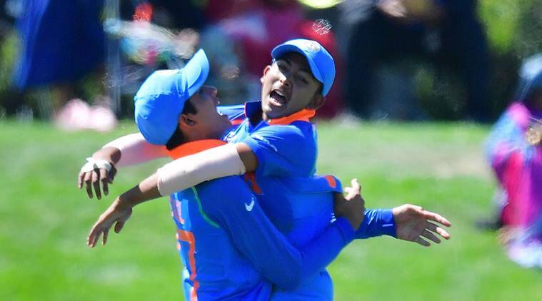 India players celebrate win over Pakistan in U-19 World Cup