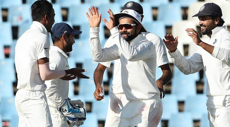 India live score against south Africa