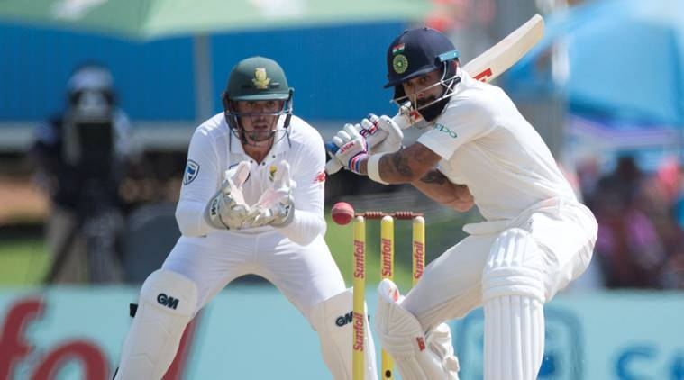 #SAvIND: Kohli looks ominous as India seek control of second Test