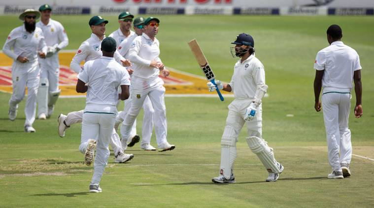 India vs South Africa, Andile Phehlukwayo, Ind vs SA, Virat Kohli, Faf du Plessis, Cheteshwar Pujara, sports news, cricket, Indian Express