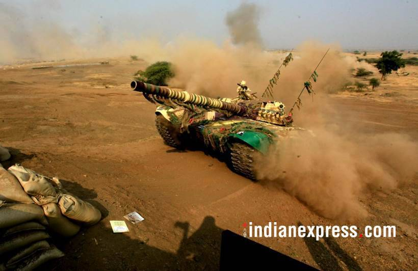 70th Army Day Indian Army Showcases Might With Tanks Choppers And