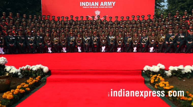 indian army, army day, army day 2018, 70th indian army day, param vir chakra, when is army day, why is army day celebrated, indian army origins, indian army latest news, indian express