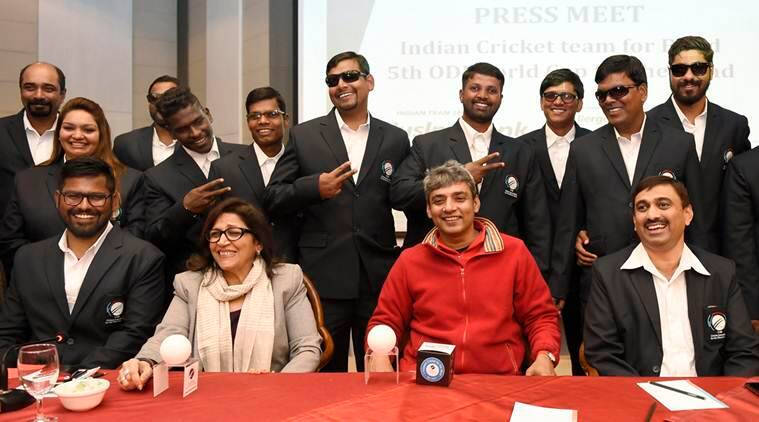 Indian cricket team for the blind