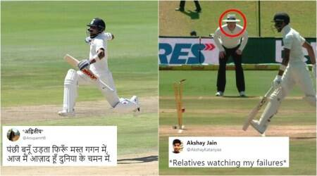 Virat Kohli and Hardik Pandya in Ind Vs SA second test match inspire hilarious memes on Twitter