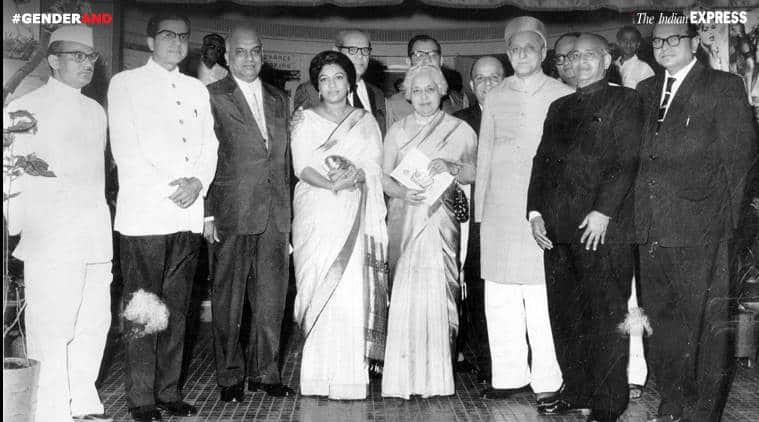 Vijaya Lakshmi Pandit, Jawahar Lal nehru, Vijaya Lakshmi Pandit constitution, GenderAnd, genderAnd story, Girja Shankar Bajpai, Morarji Desai, India news, Indian express news, republic day, Republic Day 2018,