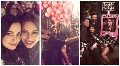 inside photos of Bipasha Basu birthday bash