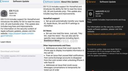 Apple iOS 11.2.5, watchOS 4.2.2 update released: iOS gets support for HomePod