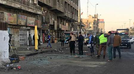 Double suicide bombing in Baghdad kills at least 38people