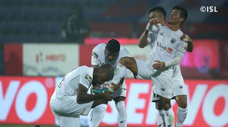 Indian Super League: NorthEast United FC beat Chennaiyin FC 3-1