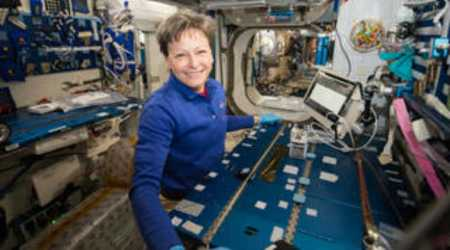 Astronauts identify unknown microbes in space for first time