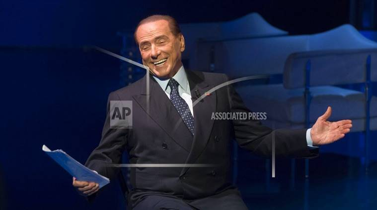 Berlusconi says Italy cannot leave euro