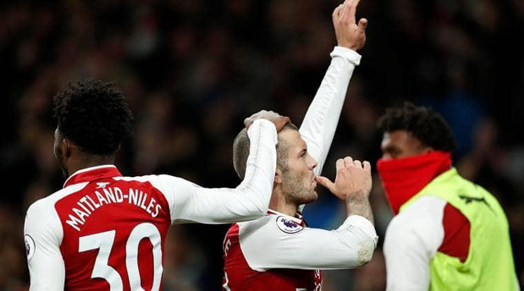 Arsenal drew 2-2 against Chelsea.