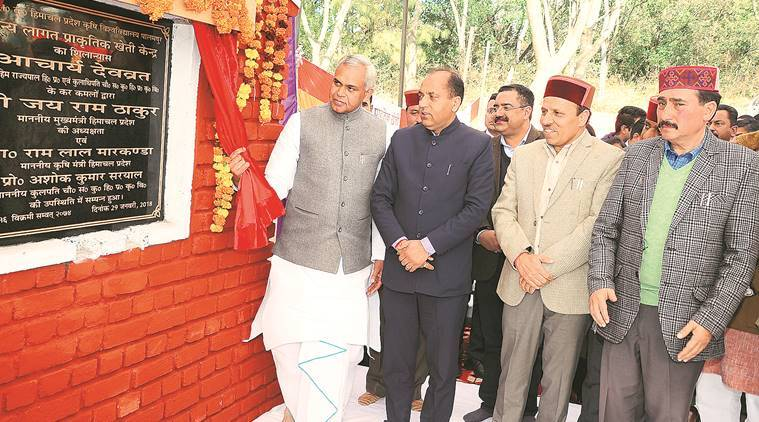 Jai Ram Thakur launches 'zero budget' farming initiative