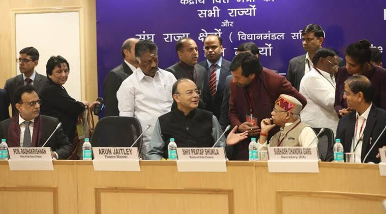Arun Jaitley GST Council meeting