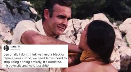 A YouTube compilation of sexist scenes from James Bond films has left many Internet usersuneasy