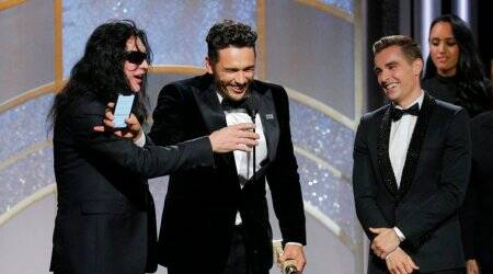James Franco turns bad into gold with Globe for The DisasterArtist