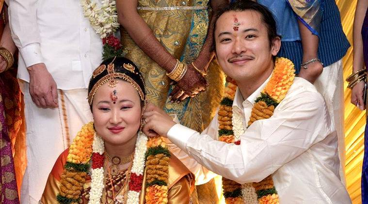 For The Love Of Tamil Culture This Japanese Couple Had
