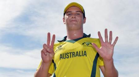 Jason Ralston claims best bowling figures at ICC U-19 World Cup