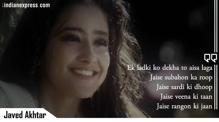 Javed Akhtar best song lyrics