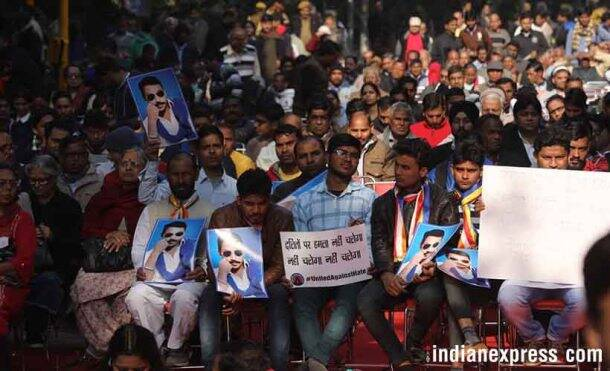 Yuva Hunkar rally pictures