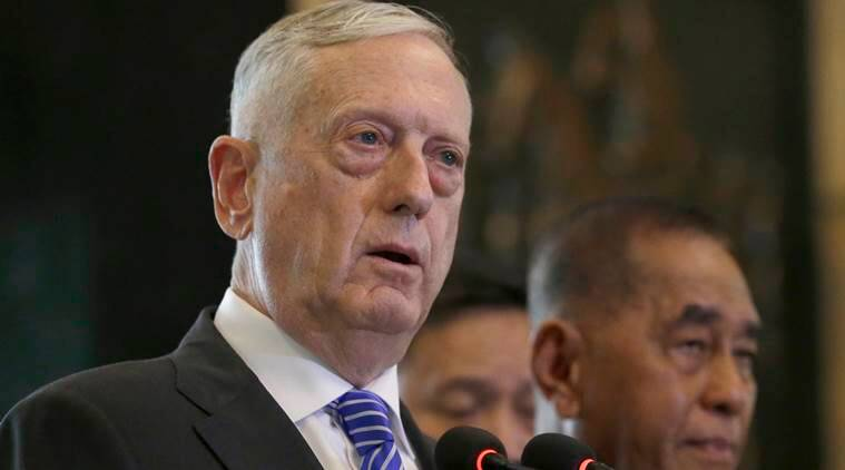 China says it is 'coordinating' with US over possible Jim Mattis visit