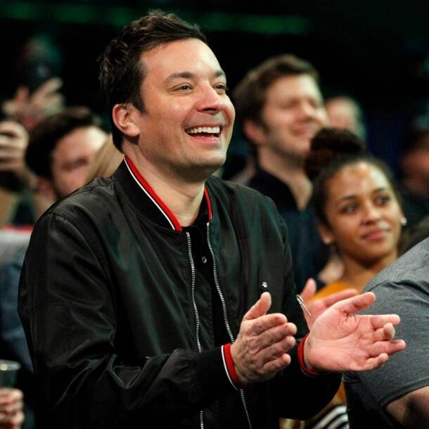 Jimmy Fallon at WWE Raw