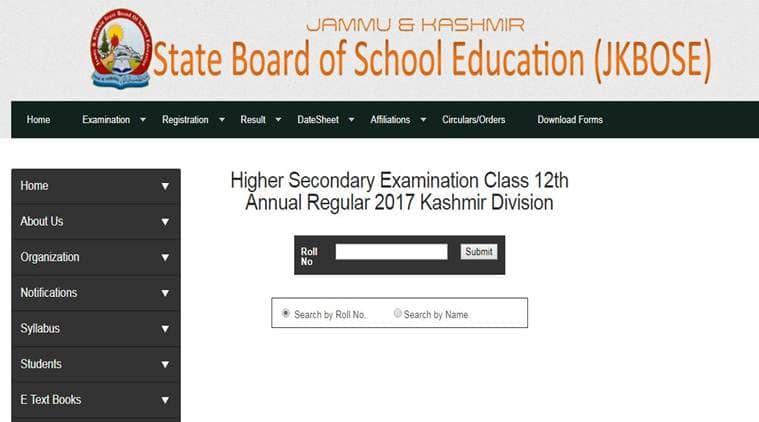 jkbose, jkbose.co.in, 12th results kashmir