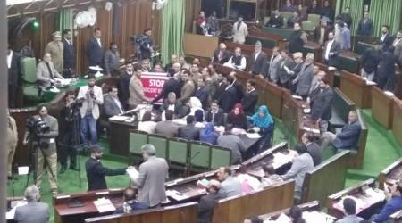 Civilian killing mars J&K Assembly proceedings, Opposition likely to boycott Mehbooba Mufti's address