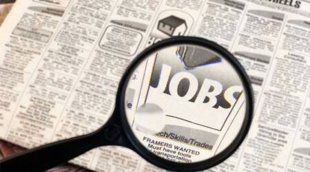 Ahmedabad news, Gujarat government recruitment, decline in Gujarat government recruitment, government job, Gujarat government jobs, Indian Express news,