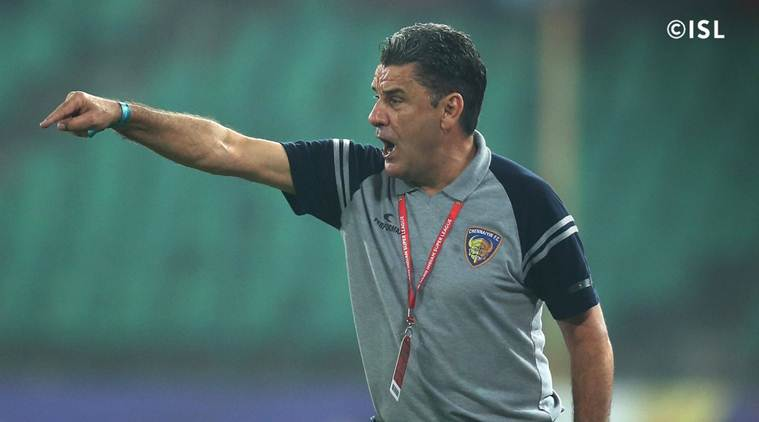 ISL 2017/18: Chennaiyin FC coach suspended for three matches, fined Rs 4 lakh