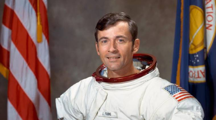 Records of astronaut John Young