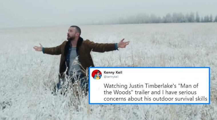 Justin Timberlake, Twitter reaction, Man of the woods, album release, latest tweet
