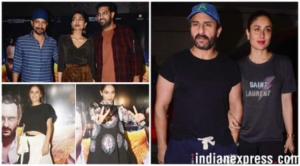 Kaalakaandi special screening Kareena Kapoor, Saif Ali Khan