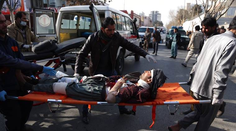 Explosions, Gunfire Reported Near Military Academy In Kabul