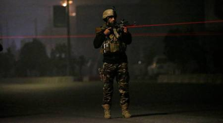 Gunmen attack Intercontinental Hotel in Kabul, take hostages, deaths reported