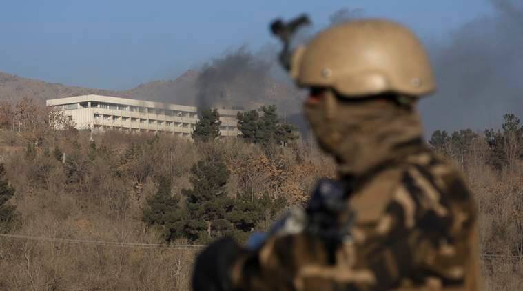 At least 18 dead in Kabul hotel attack